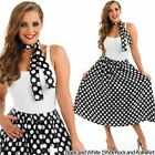 30s Fancy Dress - Ladies 1930s Costume Womens Rock N Roll Polka Dot Outfits