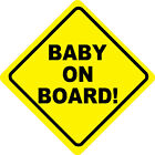 Baby on Board Stickers Vehicle Graphics