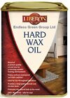LIBERON Clear Hardwax oil - durable waterproof wood floor finish Matt / Satin 1L