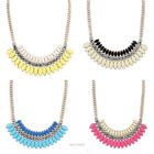 New Fashion Crystal Chain Statement Bib  Necklace  Choker Chunky Jewelry Pendant