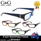 G&G Women Reading Glasses Glitter Spring Loaded Blue Brown Red Green 1.0~4.0