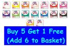 FIMO Kids Polymer Modelling Clay Oven Bake 42g - Buy 5 Get 1 Free image