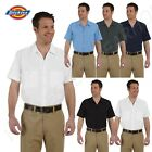 Dickies Men's 4.25 oz.Dress Industrial Short Sleeve Work S-5XL Shirt LS535
