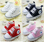 Infant Toddler Baby Boy Girl Soft Sole Crib Shoes Sneaker Age 0-18Months