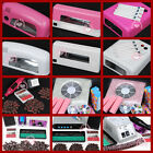 9W&36W Dryer Lamp Electric Nail File Drill Machine Nail Art Dust Suction Tips