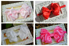 Baby Girl Large Bow Headband Infant Toddler Women Hair Band Photo Prop