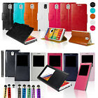 FLIP LEATHER WALLET CASE COVER For SAMSUNG GALAXY Note III 3 N9000 N9005