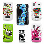Hard Plastic Rubber Cover For Samsung Captivate Glide Custom Design Phone Case