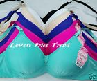 1 Bra or Lot of 6 Bras,Full Coverage Soft-Cup Wire-Free 32B 34B3 8B 34C BR4067N
