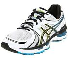 New Asics T200N.0190 GEL Kayano 18 White / Black / Hot Blue Men's Running Shoes
