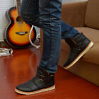 Hot Men's Fashion Winter Warm Cotton Short Boots Outdoor Casual Shoes XMX027