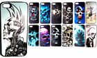 Iphone 5 Phone Cover Hard Case Skins Skull Art Punk Gothic Demon 5s Cover New