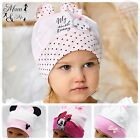 Kids Girls Toddler Elasticated Headband Triangle Bandana Scarf Hat Cap Cotton