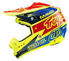 NEW 2015 TROY LEE DESIGNS TLD SE3 TEAM MX HELMET YELLOW ALL SIZES