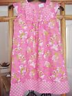 GIRLS PRETTY PINK FLORAL DRESS FROM NEXT AGE 2-3/3-4/4-5AND 5-6 BNWOT