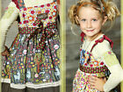 NWT Matilda Jane Firefly Knot Dress Character Counts Heart Soul Pride 2 or 4