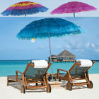 Hawaiian Parasol Beach Umbrella Sunshade Sun Outdoor Garden Patio Tilting Marko