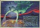 """DELLEPIANE """"Exposition D'Electricite"""" NEW CANVAS PRINT of vintage POSTER! giclee"""