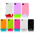 3D Melt Ice-Cream Skin Protect Hard Case Skin Cover For Apple iPhone 4S 4G