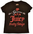 Juicy Couture Little Girls (2T-6x) Pretty Things Bling Shirt-Black