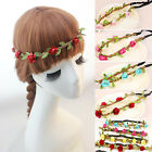 Boho Girls Women Floral Flower Headband Hairband Festival Party Wedding