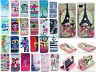 Animal Flower Flip Leather Skin Wallet Case Cover For Apple iphone 4 4S 5 5S 5C