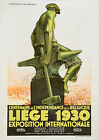 Vintage rare French 1930 ad print poster, large 4 sizes available