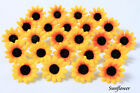 50X 100X 300X Daisy  Artificial Silk Flower Heads Wholesale Lots - F10