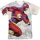 Justice League Flash Taking The Lead All Over Sublimation Poly Adult Shirt S-3XL