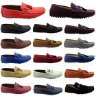 MENS BOYS ITALIAN LOAFERS MOCCASIN TASSEL DRIVING CASUAL PARTY  SLIP ON SHOES