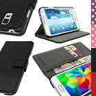 PU Leather Flip Wallet Case for Samsung Galaxy S5 SV SM G900 Stand Book Cover