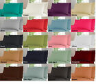Non-Iron Percale Fitted, Flat or Valance Sheets, Single Double King Pillowcases