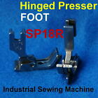 Industrial Sewing Machine Steel Hinged Presser Foot Sp18r Sp-18 Sp18 Right Guide
