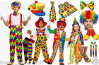 ADULT LADIES MEN CLOWN OUTFIT STAGE PARTY CHILDREN TODDLER FANCY DRESS ACCESSORY