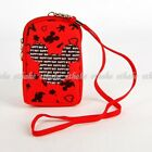 Mickey Mouse Cell Phone Bag Mini Coin Purse Pouch Strap