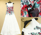 2014 Women Vintage RunWay Floral Printed Evening Party Maxi Long Boho Dress NEW