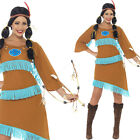 Ladies Indian Fancy Dress Costume – Wild West Native Indian Lady Squaw Outfit
