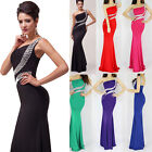 2014 CHEAP! Sexy Mermaid Bodycon Evening Party Gown Bridesmaid Long Prom Dress q