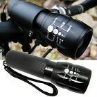Bike Bicycle Blue Head Front Light CREE Q5 LED Flashlight 240 LM Torch 5 Mode