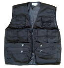 Mens Combat Army Military Waist Coat Fishing Assault Tactical Jacket Vest Black