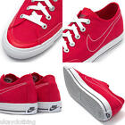 Nike Go Canvas Trainers Mens Red new