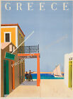 Vintage Greece Travel Advertisement print poster-4 large sizes available