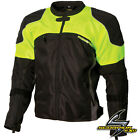 NEW SCORPION VENTECH II STREET BIKE MOTORCYCLE JACKET NEON ALL SIZES