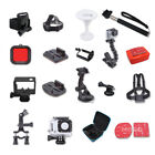 Chest Head Wrist Strap Camera Bag Monopod  Accessories For GoPro Hero 3+ 3 2