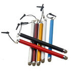 Stylus CLIP Touch Pen FIBER MESH FABRIC TIP For HP Slate 7 1800 2800 TouchPad