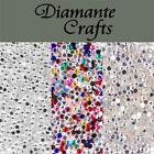 1000 x 2mm Diamante Loose Flat Back Rhinestone Nail Body Art Craft Vajazzle Gems