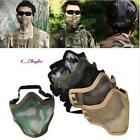 HOT Cool Strike Half Face Metal Mesh Tactical Airsoft Military Protective Mask 8