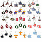 necklace & earring set charm NCAA PICK YOUR TEAM