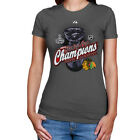 2010 Chicago Blackhawks Stanley Cup Champions Locker Room Women's T-Shirt