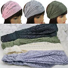 New Women Lady Girl's Chic Bandanas Turban Lace Hair Head Wraps Wide Headband